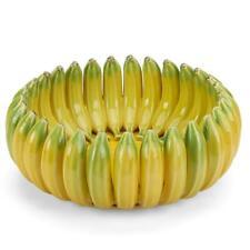 Bordallo Pinheiro Madeira Bananas Centerpiece