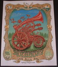 Emek Rothbury Michigan Festival Poster Print Art 2008 Signed Numbered DMB