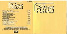 DEEP PURPLE CD: 24 CARAT PURPLE (Fame – CD-FA 3132, EMI – CDM 7 52020 2)