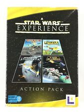 4 Jeu A Star Wars Experience Rogue Squadron, Starfighter, X-Wing Alliance Sur PC