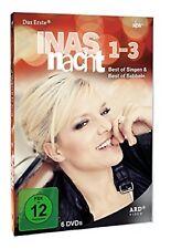 Inas Nacht - Best of Singen & Best of Sabbeln 1-3 Gesamtbox NEU OVP 6 DVDs