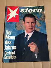 STERN - Nr. 1 - 6.01.1963 - MANN DES JAHRES GERHARD SCHRÖDER - BRIGITTE BARDOT
