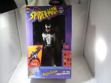 Marvel Toy Biz SPIDER-MAN Dressed As VENOM In Black Suit Fully Poseable