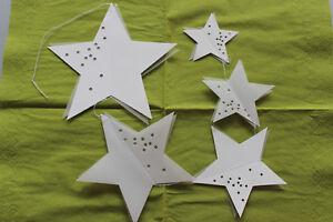 räder Paper Star - Sternenschweif Double Star = 5 Sterne ca. 50cm Länge