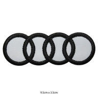Audi Racing  Car Brand Embroidered Patch Iron on Sew On Badge For clothes etc