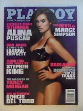 Playboy Magazine Nov 2009 ~ Alina Puscau + Marge Simpson + KELLEY THOMPSON CF
