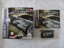 Need for Speed Most wanted für Game Boy Advance - GBA - CIB - OVP - Komplett