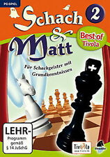 Scacchi & Matt 2 PC come Fritz e finitura super non solo per i bambini