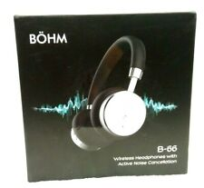 BOHM B66 Wireless Bluetooth Noise Canceling Headphones with Carrying Case