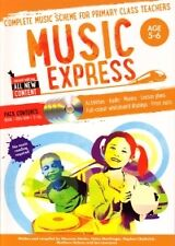 MUSIC EXPRESS Age 5-6 Book 1 + DVD-Rom & 3 CDs