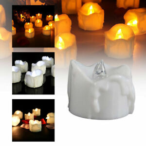 6-24X Flameless LED Candle Battery Operated Flickering Lights Lamp Home Decor