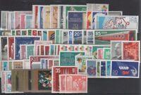 DDR Jahrgang 1973 , postfrisch , Auswahl aus Michel Nr. 1815 - 1906