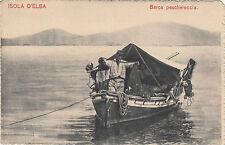 NP5678 - ISOLA D'ELBA LIVORNO - BARCA PESCHERECCIA FINE 800 NON VIAGGIATA