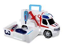 Ambulancias de automodelismo y aeromodelismo blancos
