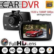 1080p Car Camera HD Dash 2.4inch LCD DVR Cam UK G Sensor Dashcam Night Vision