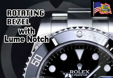 For Rolex Submariner HD Clear (ONLY) Bezel Protectors with Lume Notch set of 4