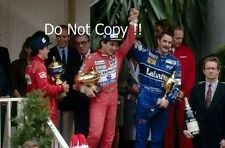 Ayrton Senna McLaren MP4/7A Winner Monaco Grand Prix 1992 Photograph 3