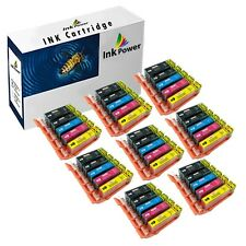 40 Ink Cartridges For Canon Pixma IP4850 IP4950 IX6550