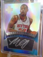 2012-13 PANINI INNOVATION MARCUS CAMBY AUTO KNICKS !