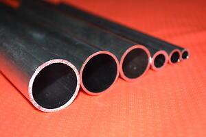 Barra Rotonda Alluminio Cavo Tubo Albero Metrico 6mm 8mm 10mm 13mm 16mm 22mm