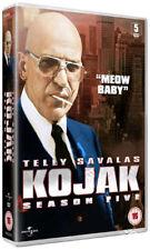 Kojak - Season 5 NEW PAL Arthouse 5-DVD Boxset Leo Penn Telly Savalas
