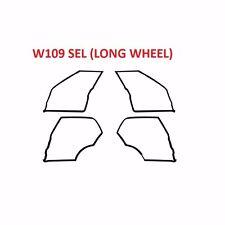 Mercedes Benz W109 4 Doors Weatherstrip Seals NEW 300SEL 6.3 300SEL 4.5
