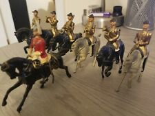 Britains Toy Soldier Seven figures from Set 101 Band Life Guards