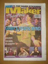 MELODY MAKER 1997 MAR 22 GORKY'S ZYGOTIC MYNCI REEF ASH