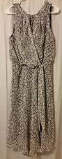 Karen Stevens - Black And White Floral Dress Size 14       FS14