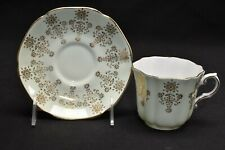 Royal Grafton 1271 Mint Green With Gold Cup & Saucer