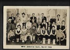 pk36051:Real Photo Postcard-WWVA Jamboree Cast,March 1950 - West Virginia