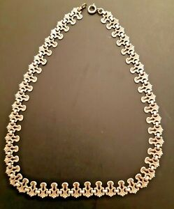 Asian Silver Chain Necklace 40 cm & 10 grams