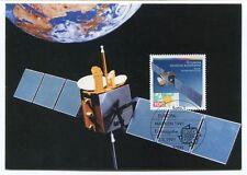1991 Europa Deutsche Bundespost Marken Erstausgabe Femmeldesatellit Kopernikus