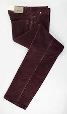 """New. BRIONI Wengen Purple Corduroy Cotton Blend Jeans Pants 46/30 Waist 31"""" $550"""