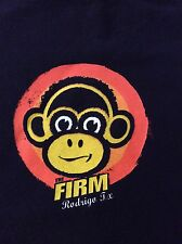 The Firm Skateboarding T-Shirt Roderigo Design