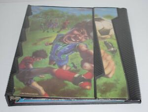 Vintage 90's NO Rules Mead Trapper Keeper Boy Soccer Portfolio with Folders New