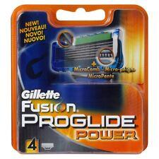 Gillette Fusion Proglide Power Cart 4Pk
