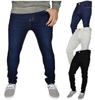 New Mens Super Stretch Skinny Jeans westAce Spandex Denim Pants