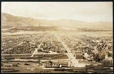 Salida, CO. Cityscape, Postmarked 1913, Real Photo Postcard
