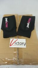 New Lot Of 25 Pairs Of PILOXING All Black Weighted Gloves - .5lbs Per Glove -