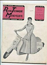 N°116 ;   1956 ; étude technique : microcar  ISETTA  VELAM / A.J.S.350 56 /16 MS