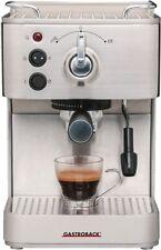 Gastroback 42606 Design Espresso Plus Edelstahl Espressomaschine NEU