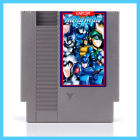 [ Mega Man 1 2 3 4 5 6 Multicart ] NES Nintendo USA NTSC video game cartridge