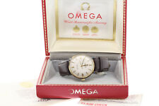 Vintage 1960's Omega Seamaster Deville Automatic 34/36.5mm Watch w/ Box & Papers