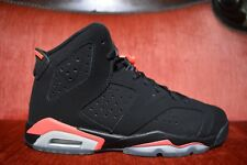 Nike Air Jordan 6 Retro Black Infrared BG Youth 7 384665 023 Infrared 23 Bred DB