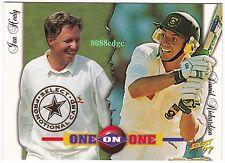 1997 SELECT CRICKET PROMO: IAN HEALY/DAVID RICHARDSON #PC3 PROMOTIONAL CARD
