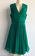 NWOT $1290.00 Max Mara Italy Elegante Pianoforte Draped Cocktail Dress Sz 14