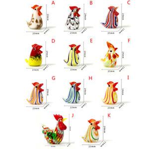 1PC Hen Chicken Small Statue Figurine Micro Craft Ornament Miniatures DecoorBHF