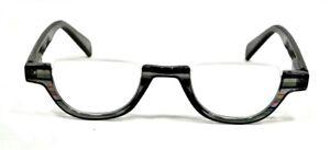 NWT Women Half Frame Reading Glasses The Geneva Fashion Style Spring Hinge Frame