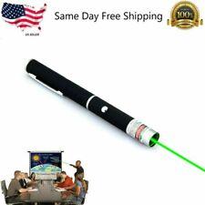 Power Laser High Burning Pointer Military Green Beam Survival Long Range Pen Us